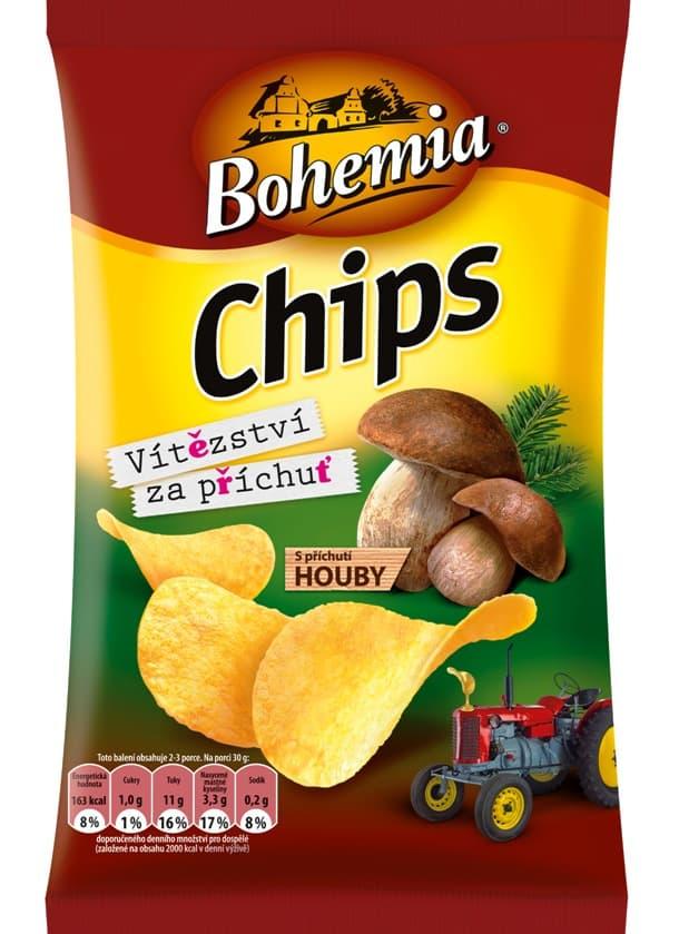 Bohemia Mushroom Flavored Chips