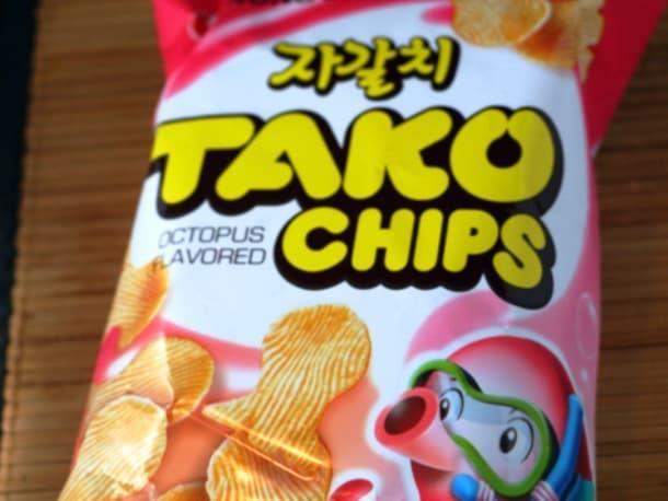 Tako Octopus Flavored Potato Chips
