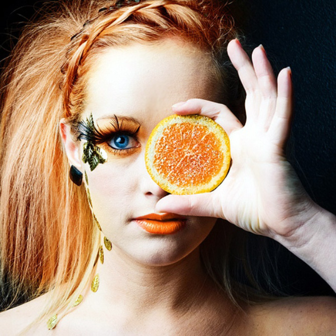 Oranges And Eyes