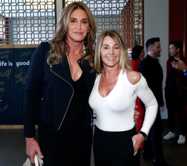 Nadia Comăneci And Caitlyn Jenner