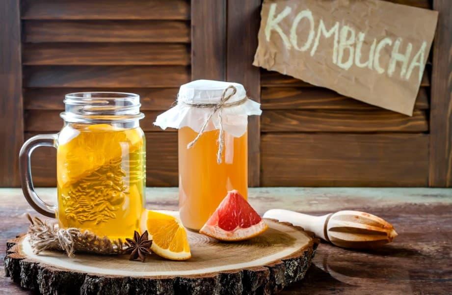 Homemade Kombucha