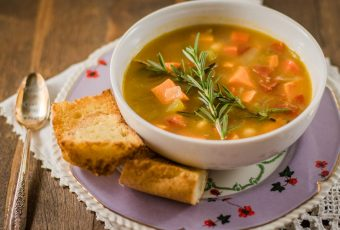 Creamy Sweet Potato And Vegetable Soup