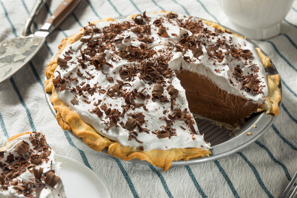 The Best French Silk Chocolate Pie
