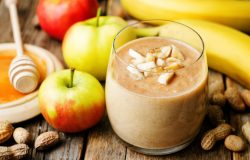 The Perfect Breakfast On The Go: Apple And Peanut Butter Smoothie