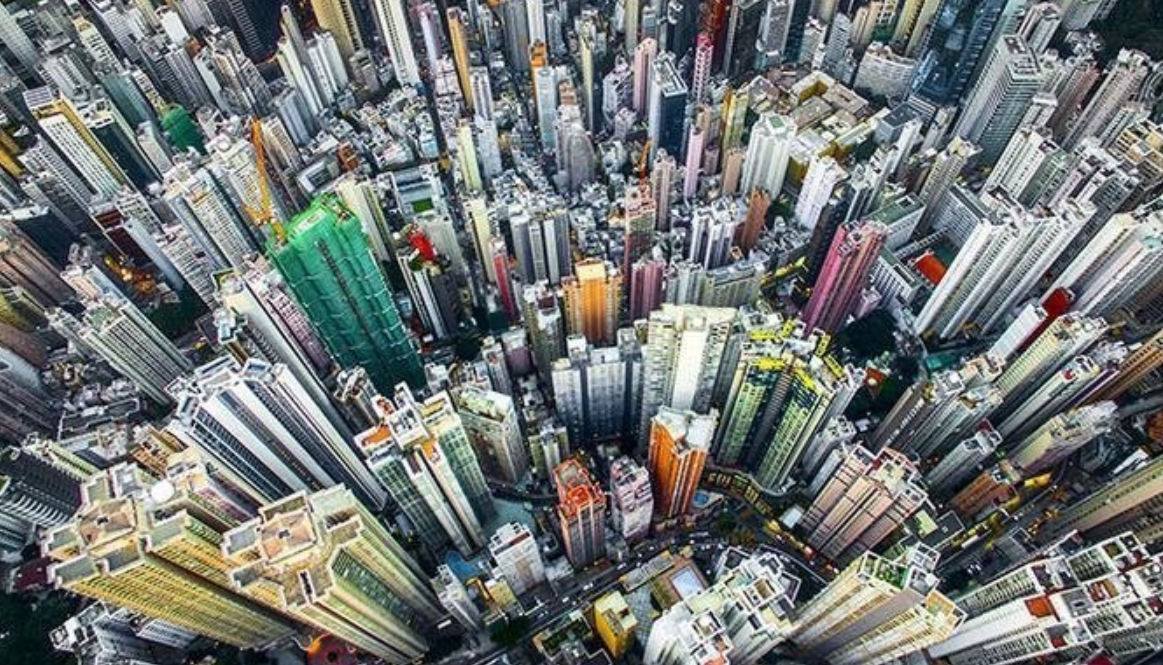 High Above Hong Kong