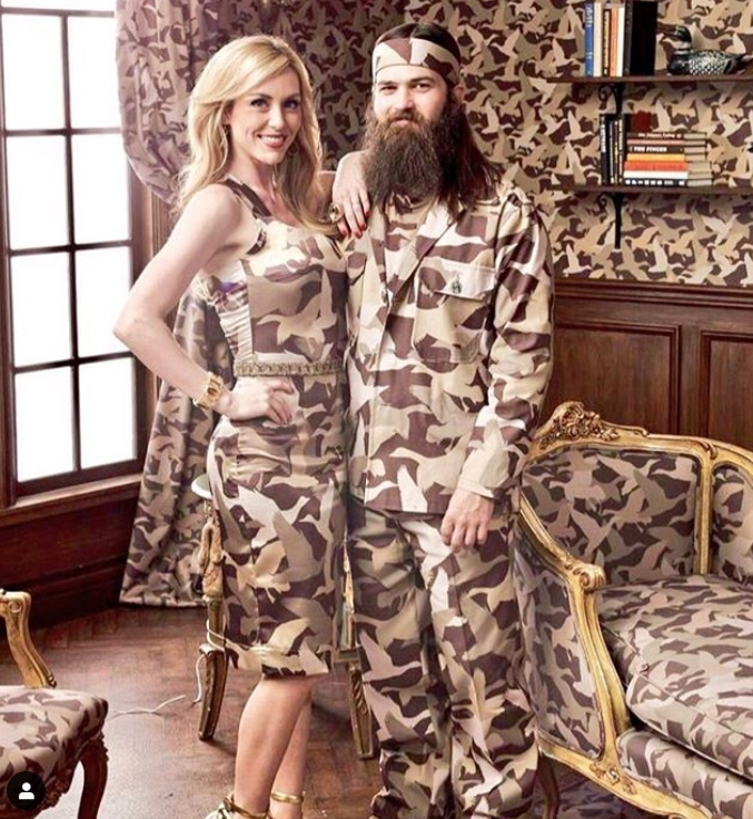 Camouflage Couple