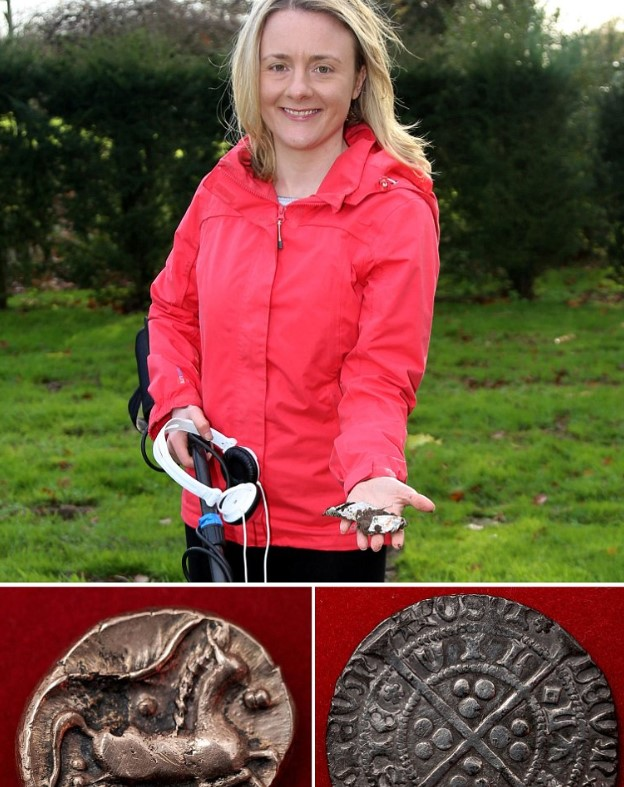 Girl Finds 700 Yr Old Coin, Years Later Cops Arrest Her,