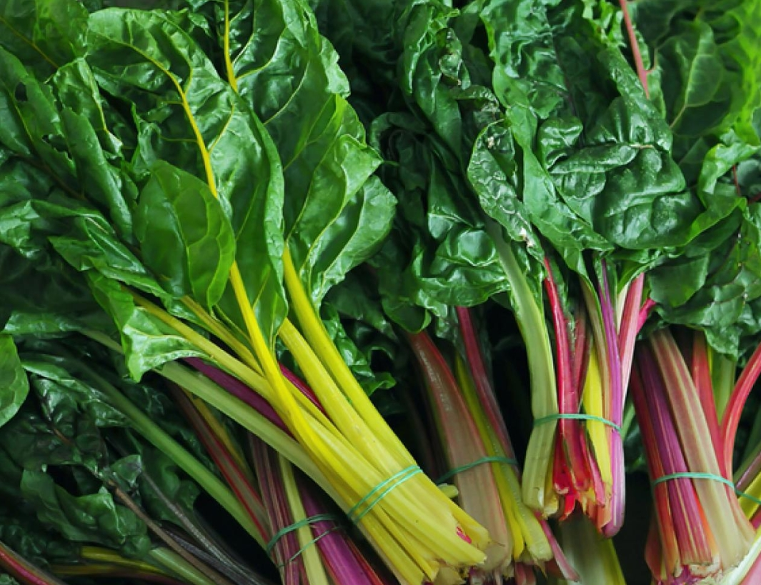 Swiss Chard, Spinach And Beet Greens