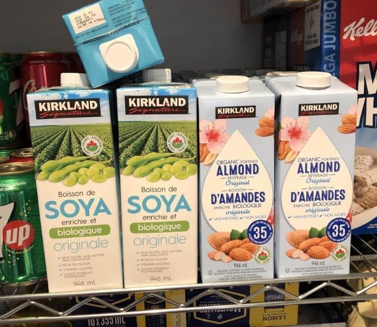 Don't Buy Kirkland Almond Milk