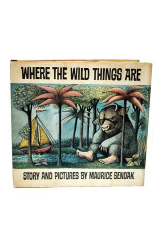 First Edition Of 'Where The Wild Things Are'