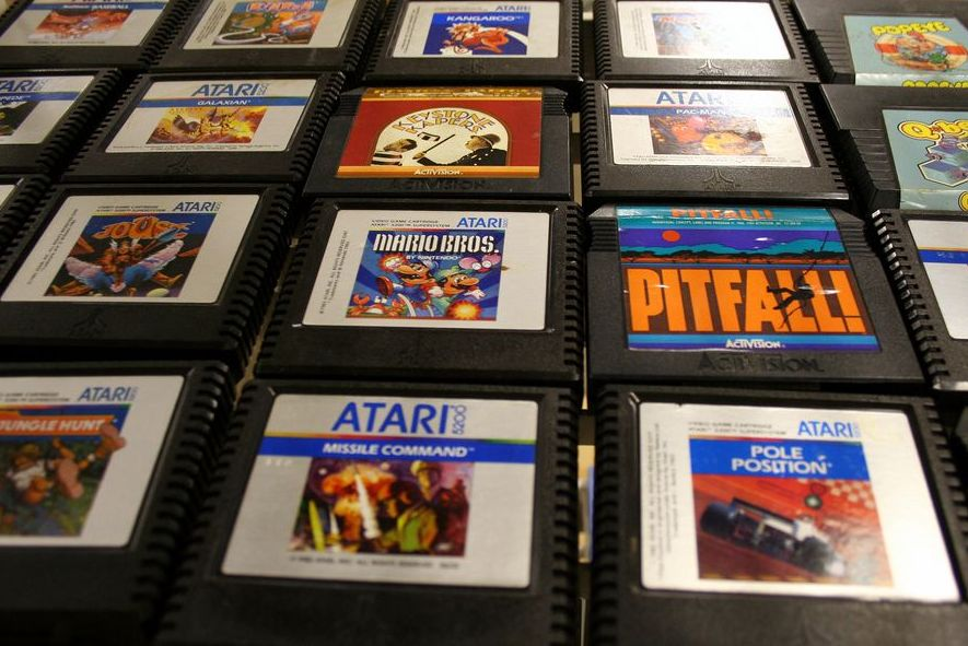 Vintage Atari Cartridges