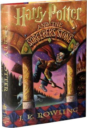 First Edition Of 'Harry Potter And The Sorcerer's Stone'