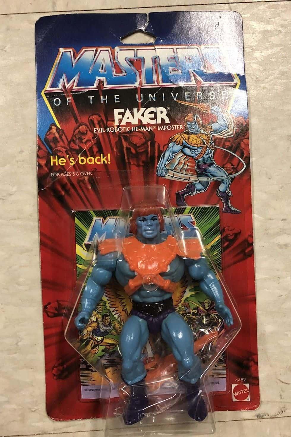 Faker Action Figure
