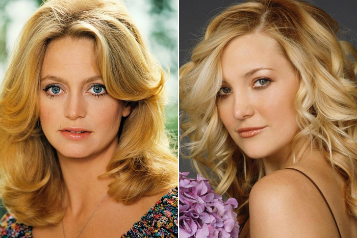 Goldie Hawn – Kate Hudson (25 Years Old)