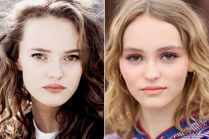 Vanessa Paradis – Lily Rose Melody Depp (18 Years Old)