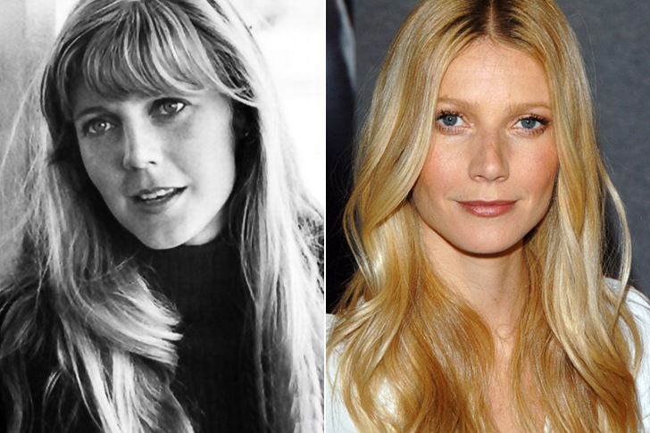 Blythe Danner – Gwyneth Paltrow (30 Years Old)