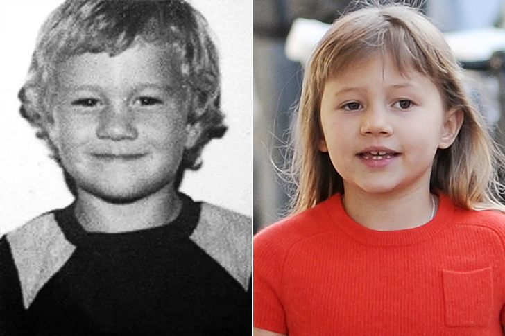 Heath Ledger – Matilda Ledger (9 Years Old)