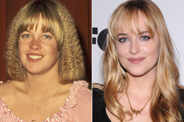 Melanie Griffith – Dakota Johnson (25 Years Old)
