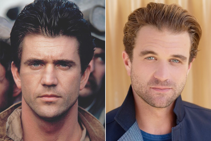 Mel Gibson – Milo Gibson (27 Years Old)