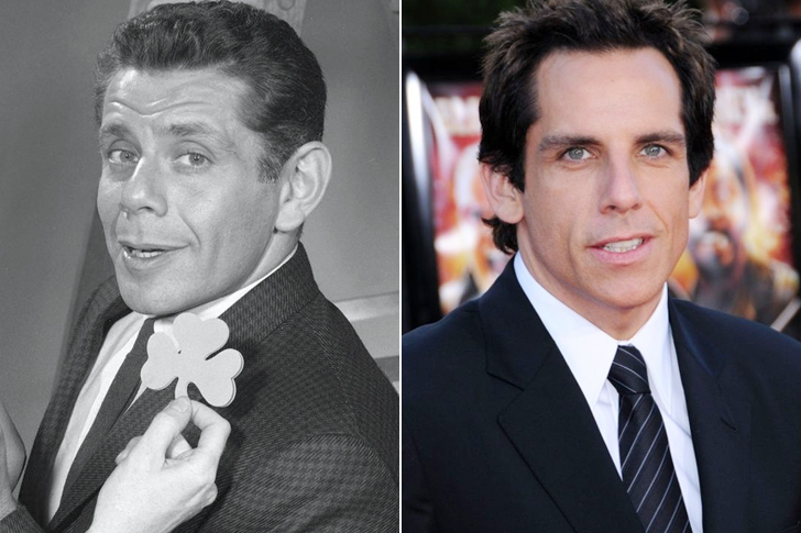 Jerry Stiller – Ben Stiller (39 Years Old)