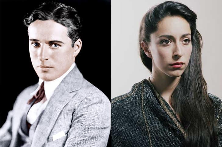 Charlie Chaplin – Oona Castilla Chaplin (30 Years Old)