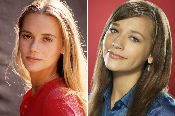 Peggy Lipton – Rashida Jones (30 Years Old)