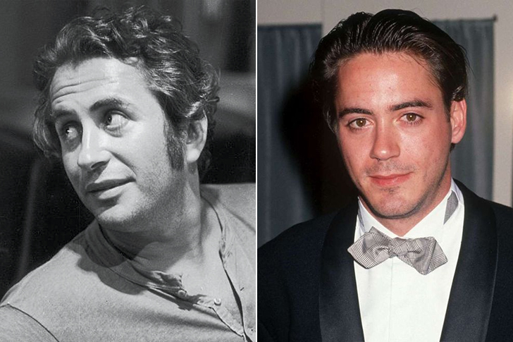 Robert Downey Sr. – Robert Downey Jr. (34 Years Old)