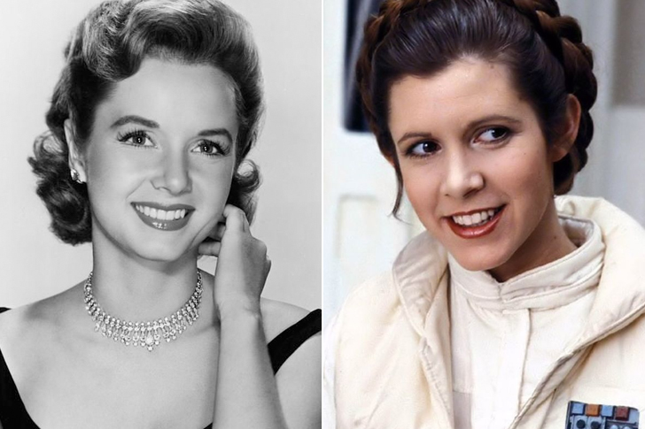 Debbie Reynolds – Carrie Fisher (23 Years Old)