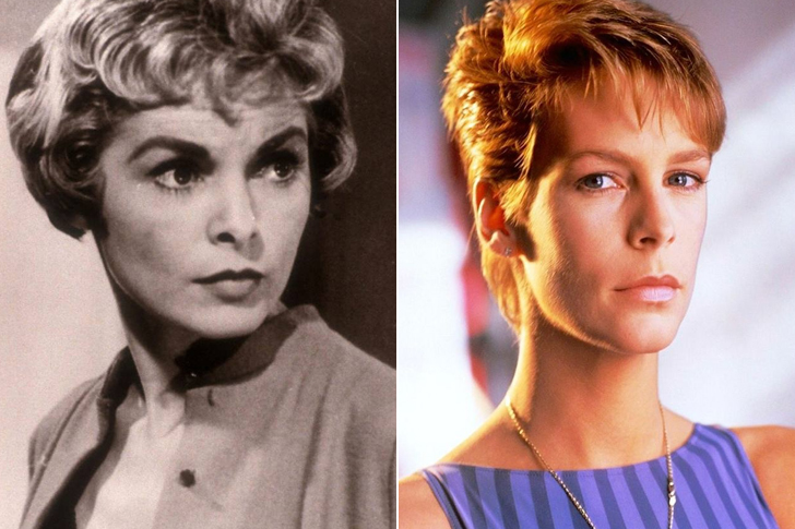 Janet Leigh – Jamie Lee Curtis (20 Years Old)