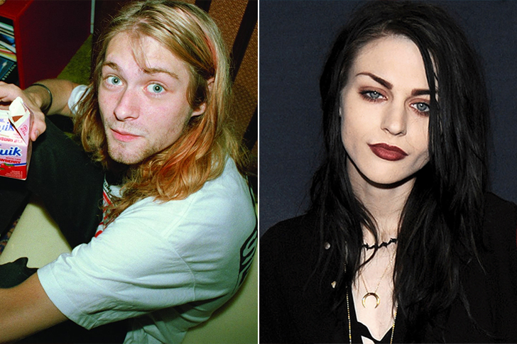 Kurt Cobain – Frances Bean Cobain(24 Years Old)