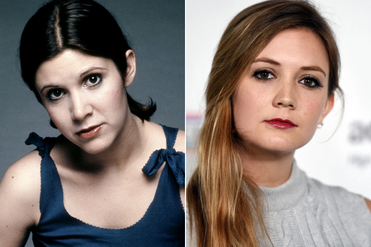 Carrie Fisher – Billie Lourd (23 Years Old)