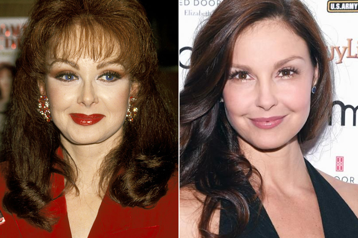 Naomi Judd – Ashley Judd (39 Years Old)