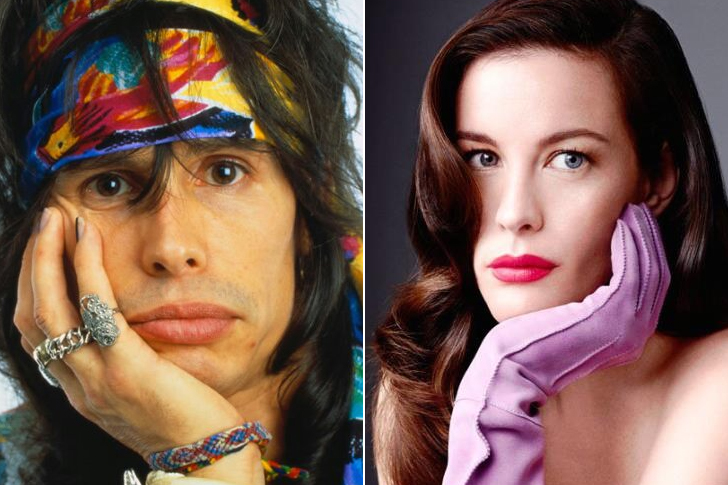 Steven Tyler – Liv Tyler (In Their Thirties)