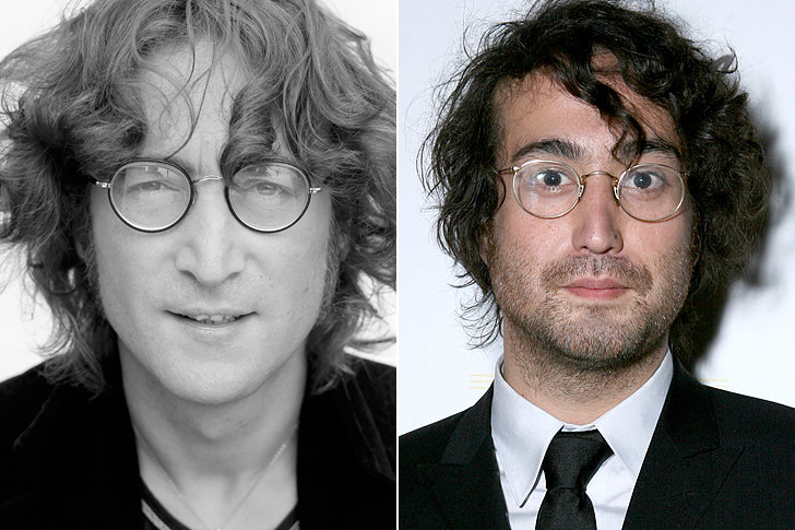 John Lennon – Sean Lennon (31 Years Old)