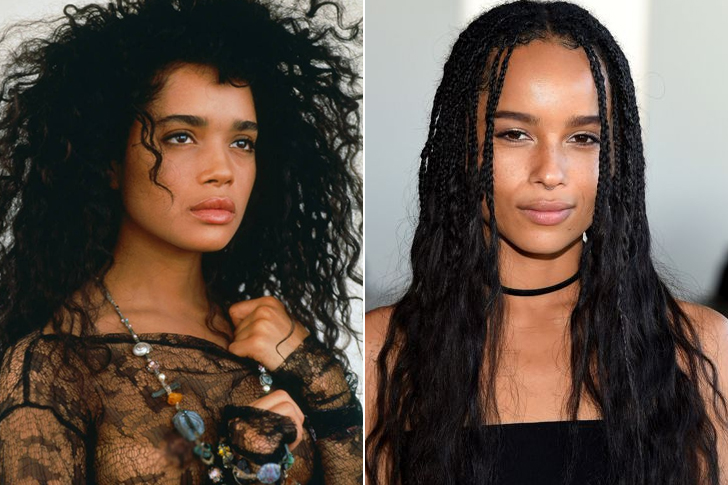 Lisa Bonet – Zoë Kravitz (In Their Twenties)