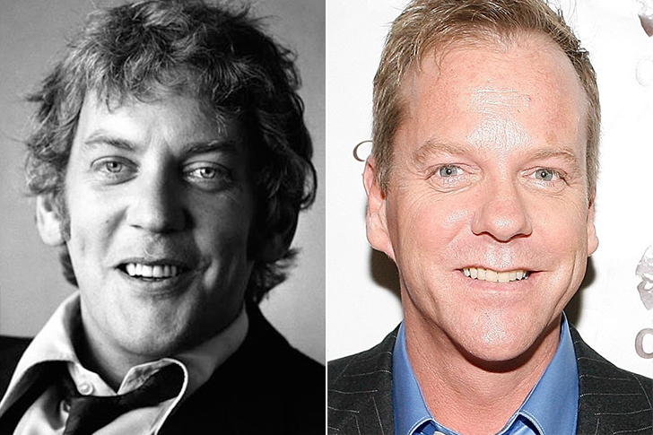 Donald Sutherland – Kiefer Sutherland (35 Years Old)