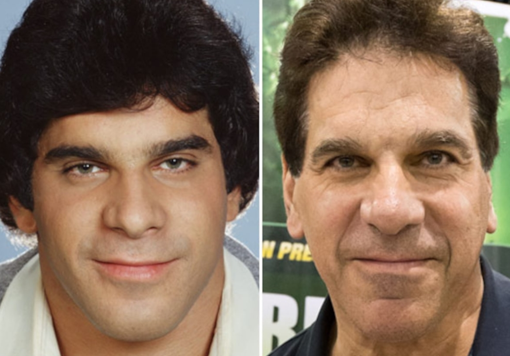 LOU FERRIGNO 69 YEARS OLD