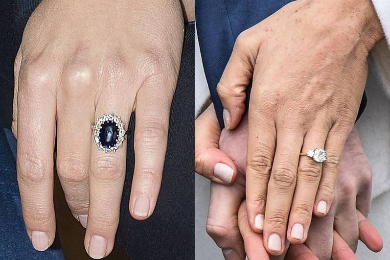Their Engagement Rings