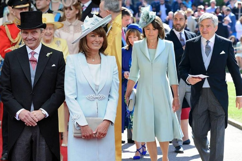 What The Middletons Wore