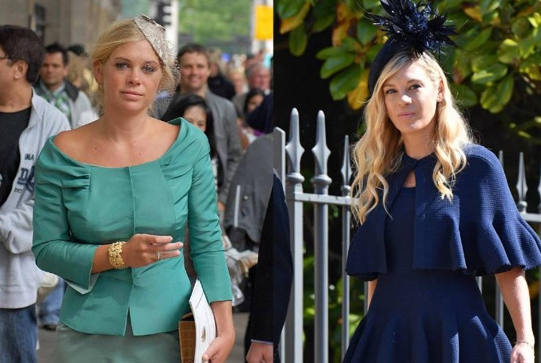 Chelsy Davy's Attire On Both Royal Weddings