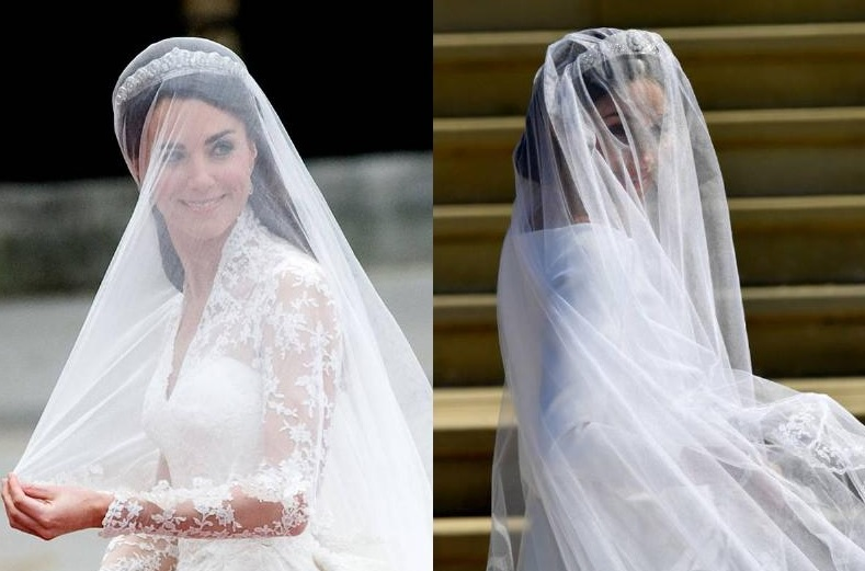The Different Royal Wedding Veils
