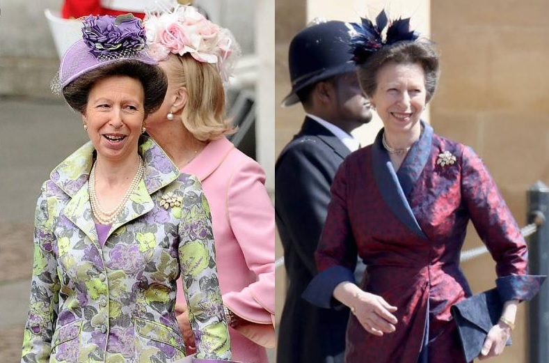 Princess Anne And Her Different Shades Of Purple